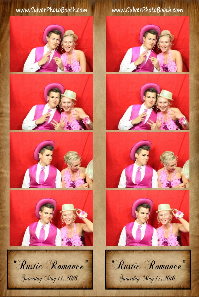 North Judson prom Photo Booth